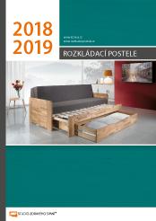 Katalog rozkládacích postelí